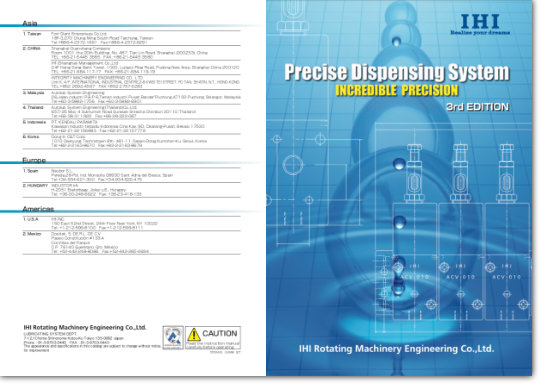Precise Dispensing System Catalog